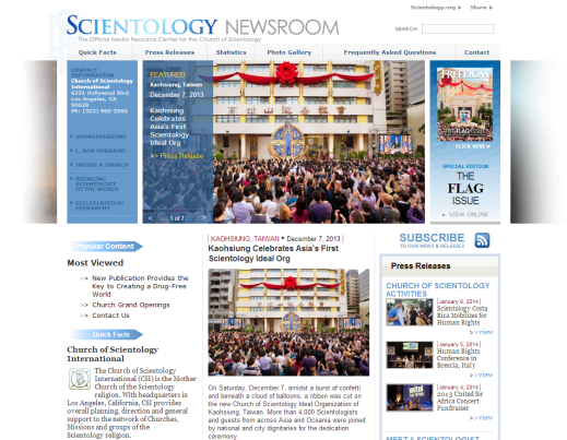 Scientology-Newsroom